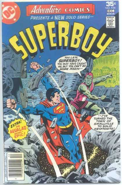 Adventure Comics 454 - Aqualad