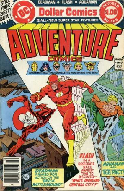 Adventure Comics 465 - Flash - Fish - Jim Aparo