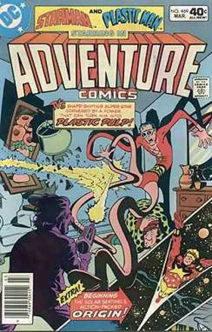 Adventure Comics 469 - Plastic Man - Dc - Extra - Starman - Gun - Jim Aparo