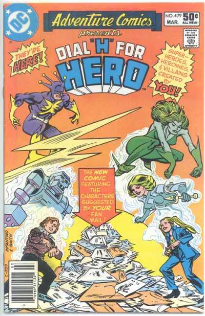 Adventure Comics 479 - Hero - Robot - Carmine Infantino