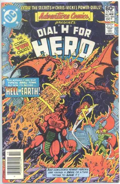 Adventure Comics 486 - Hell - Devil - Hell On Earth - Demon - Earth - George Perez
