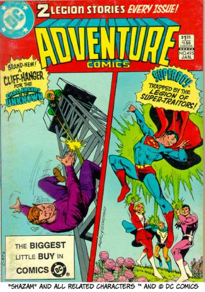 Adventure Comics 495 - Dick Giordano, Ross Andru