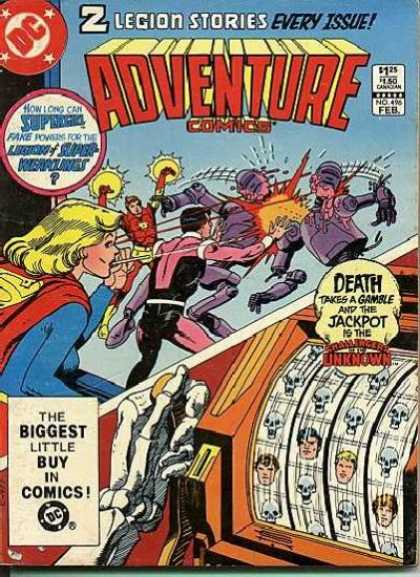 Adventure Comics 496 - Supergirl - Robots - Jackpot