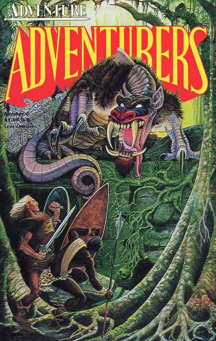 Adventurers 2 2 - Adventure - Adventurers - Monster - Teeth - Sword