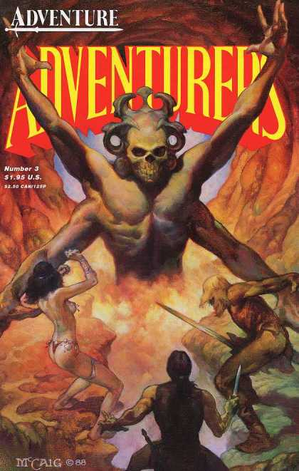 Adventurers 2 3 - Four Arms - Hell - The Volcano - Skull - Lost