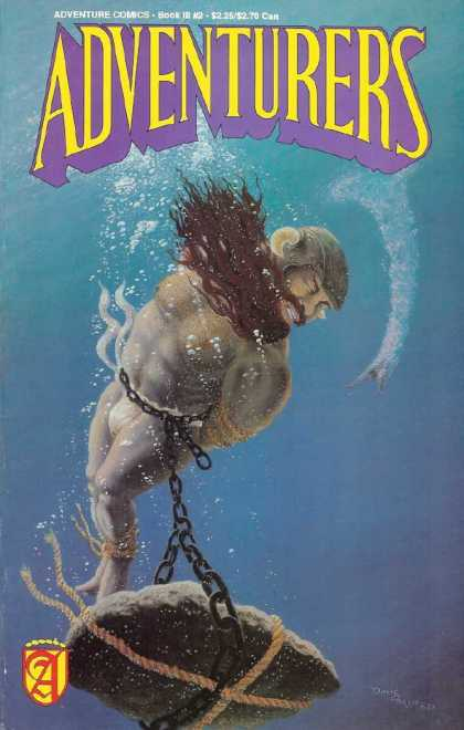Adventurers 3 2 - Underwater - Beard - Chain - Ropes - Rocks