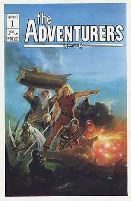 Adventurers (Aircel) 1 - Sword - Fight - Log - Fire - Point