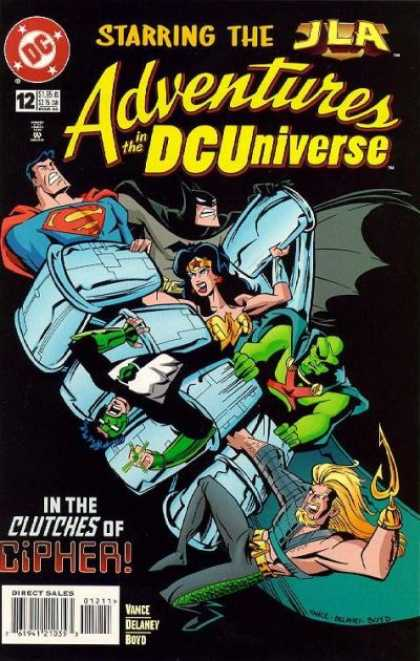 Adventures in the DC Universe 12