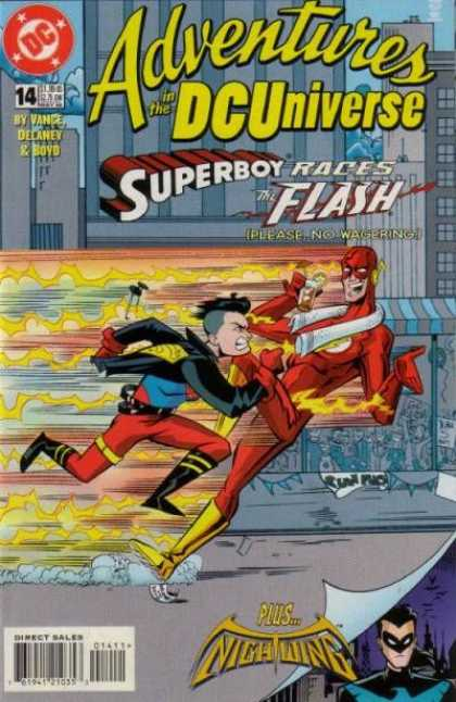 Adventures in the DC Universe 14