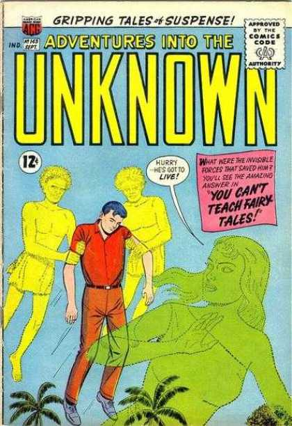 Adventures Into the Unknown 143 - Acg - Acg Comics - Unknown - Fairy Tales - Adventure