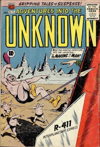 Adventures Into the Unknown 145