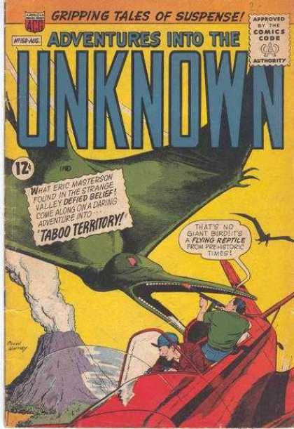 Adventures Into the Unknown 150