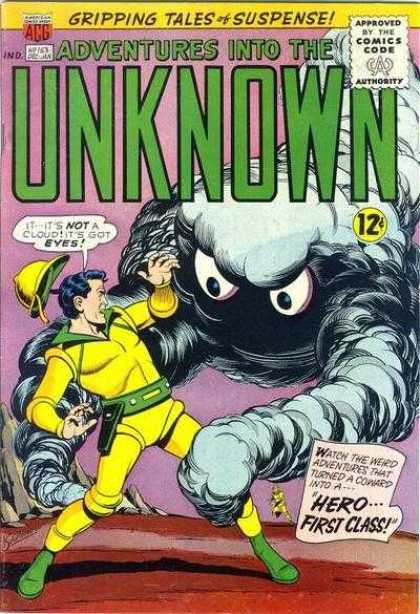 Adventures Into the Unknown 153 - Gripping Tales Of Suspense - Comics Code - Monster - Man - Herofirst Class