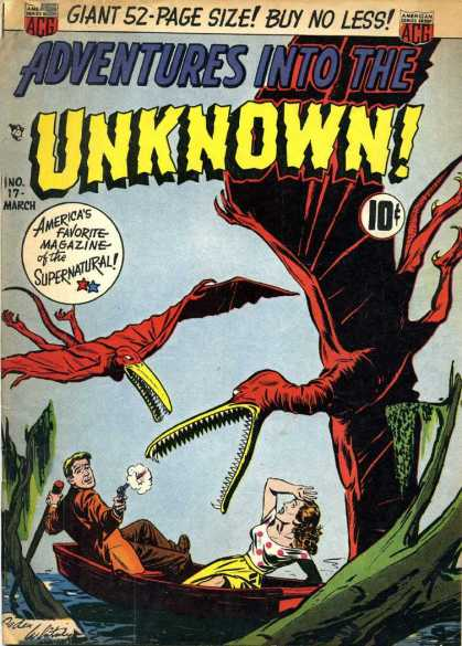 Adventures Into the Unknown 17 - 53-page - Unknown - Adventures - No17 - March