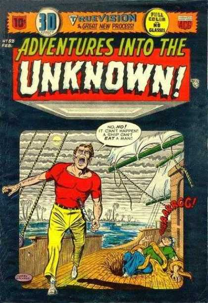 Adventures Into the Unknown 52