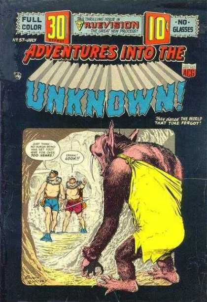 Adventures Into the Unknown 57
