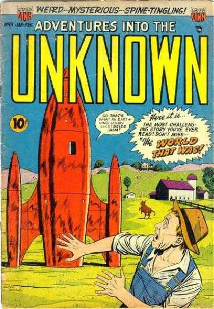 Adventures Into the Unknown 61
