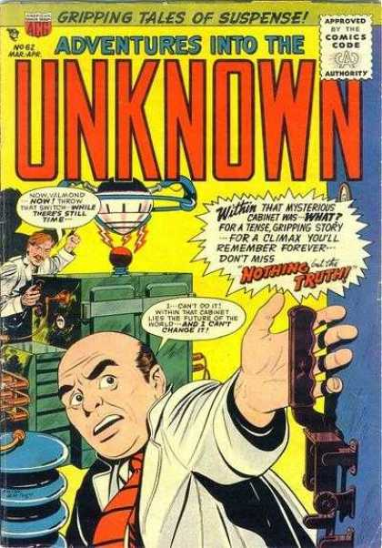 Adventures Into the Unknown 62