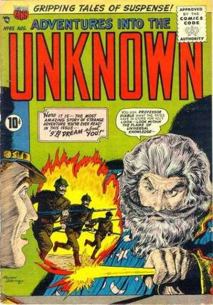 Adventures Into the Unknown 65