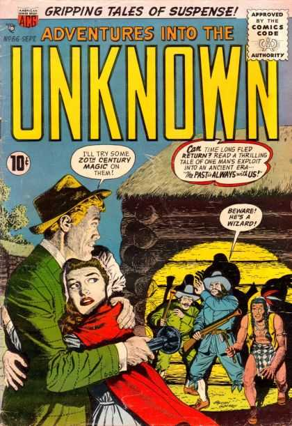 Adventures Into the Unknown 66