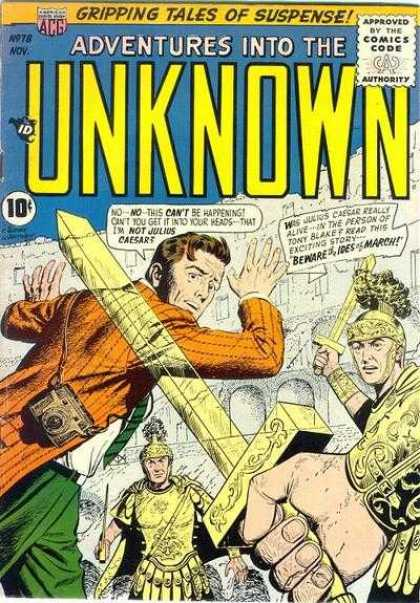 Adventures Into the Unknown 78 - Camera - Swords - Armour - Green Pants - Ghost