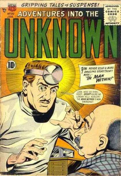 Adventures Into the Unknown 80 - Hypnosis - Doctor Scary - Look Into My Eyes - Unknown Mysteries - Doctor And Patient