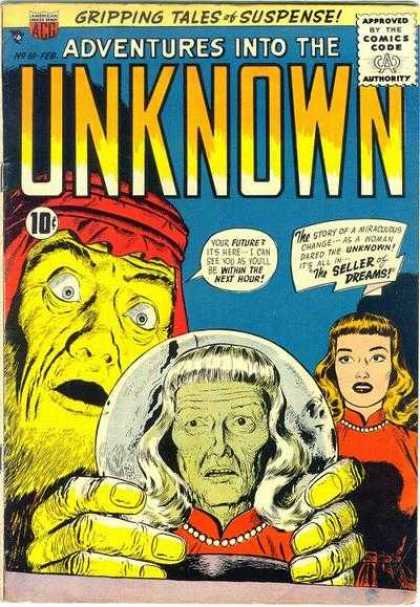 Adventures Into the Unknown 81