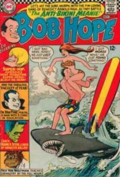 Adventures of Bob Hope 101 - Bikini - Beach - Surf Board - Anti-bikini Meanie - Shark