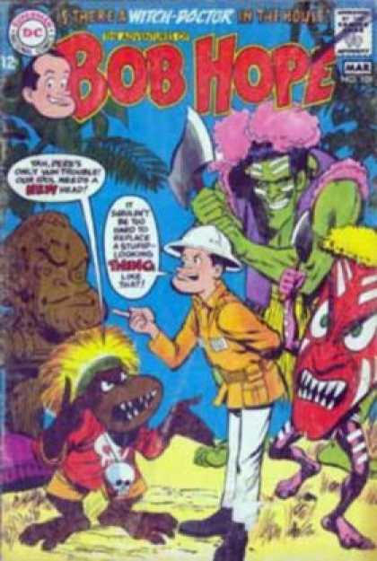 Adventures of Bob Hope 109 - Bob Hope - Witch-doctor - Monsters - Cannibals - Ax
