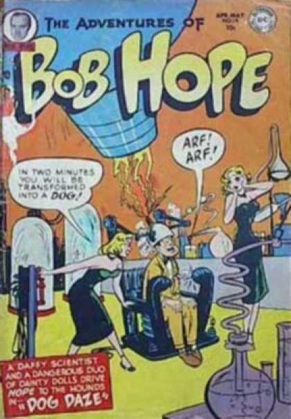 Adventures of Bob Hope 14 - Dog Daze - Women - Man - Laboratory - Dc