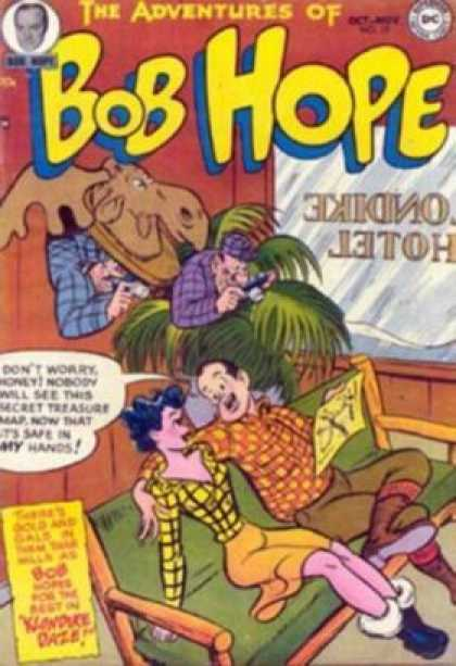 Adventures of Bob Hope 17 - Hotel - Lobby - Sofa - Spy - Cameras