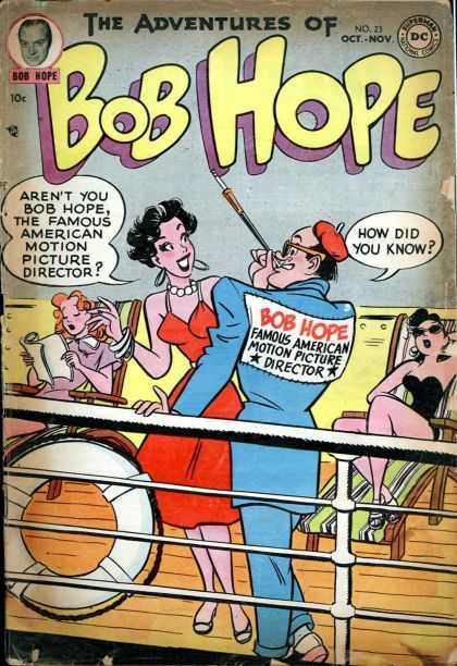 Adventures of Bob Hope 23 - Bob In Chair - Comedy Bob - Tyre In Bob House - Bob Hope - Bob In Bridge