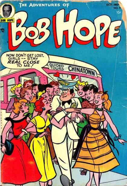 Adventures of Bob Hope 29 - Bus - Chinatown - Tour - Girls - Guide
