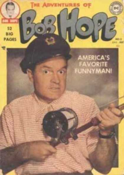 Adventures of Bob Hope 3 - Comedian - Young - Funny - Soldiers Support - Nose
