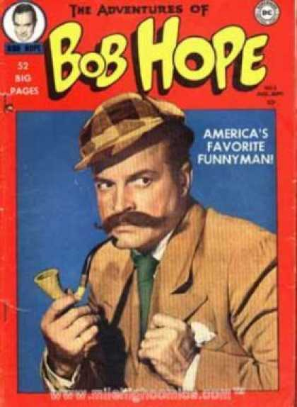 Adventures of Bob Hope 4 - Dc - Superman - National Comics - 52 Big Pages - Cap