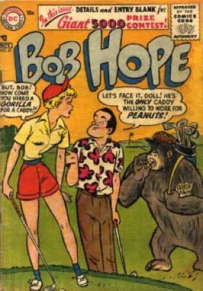Adventures of Bob Hope 41 - Man - Woman - Gorilla - Golf Clubs - Greens