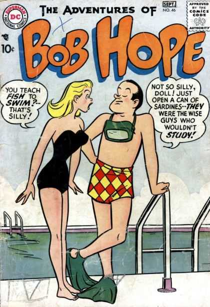 Adventures of Bob Hope 46 - Bikini - Blonde - Babe - September - Swimming Pool