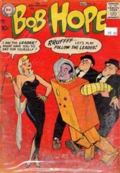 Adventures of Bob Hope 50 - Sexy Woman - Blonde Vamp - Robot Costume - Follow The Leader - Henchmen