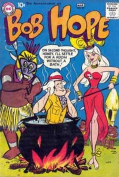 Adventures of Bob Hope 55 - Bob Hope - Dc - Bob - Hope - Bath