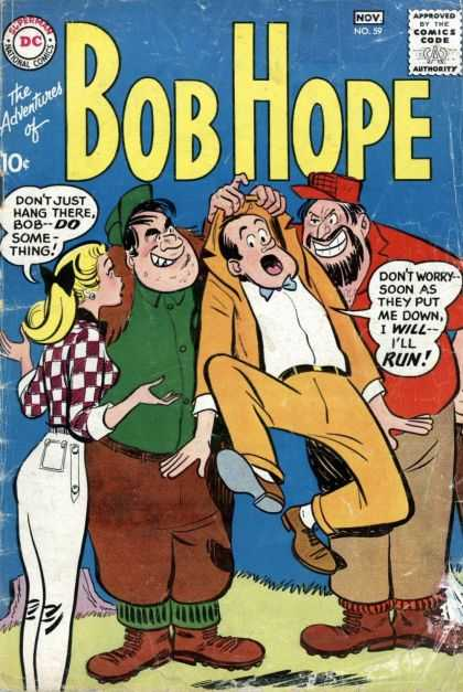 Adventures of Bob Hope 59 - Thugs - Comedy - Old - Dc - Blonde