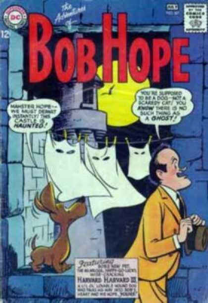 Adventures of Bob Hope 87 - Dog - Man - Sheets - Clothes - Castle