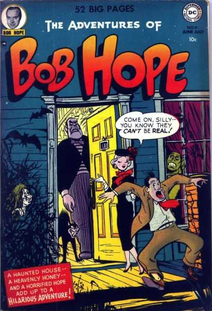 Adventures of Bob Hope 9 - Cat - Bat - Monster - Haunted House - Heavenly Honey