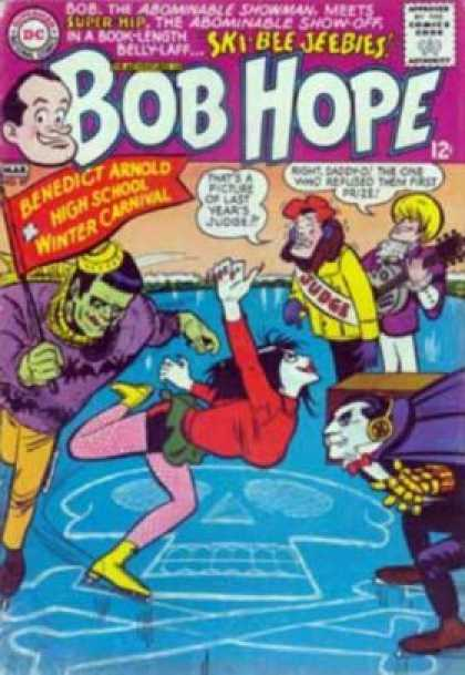 Adventures of Bob Hope 97 - Skating - Ice - Pennant - Frankenstein - Dracula