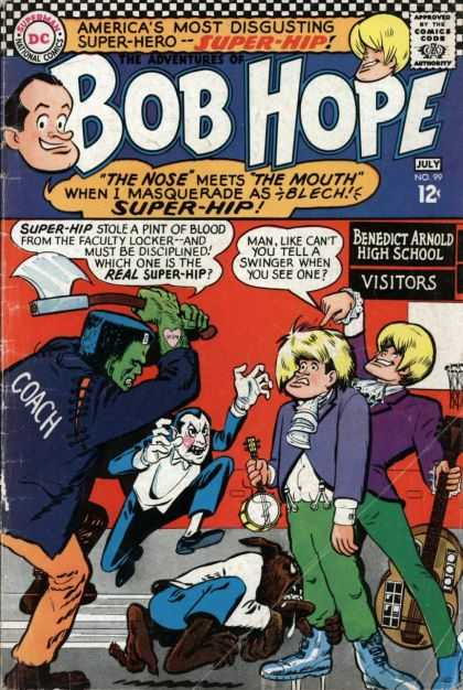 Adventures of Bob Hope 99 - Man - Woman - Girl - Ax - Monster