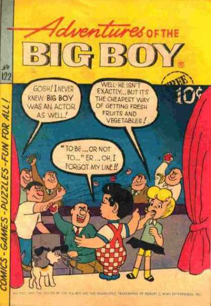 Adventures of the Big Boy 122 - 122 - Fun For All - Comics - Games - Puzzles