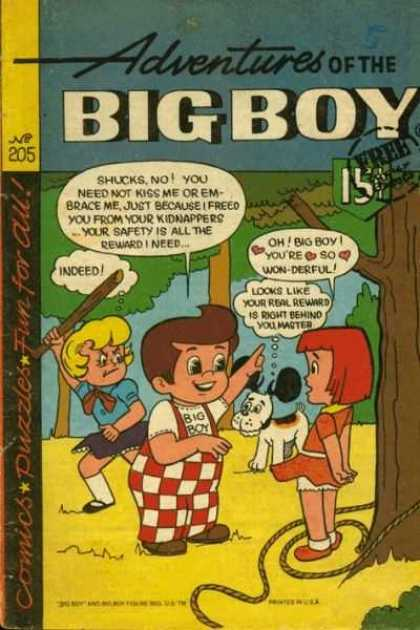 Adventures of the Big Boy 205 - Kids - Dog - Stick - Rope - Love