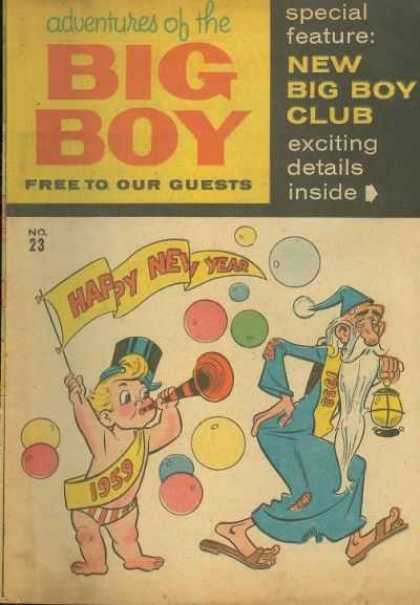 Adventures of the Big Boy 23 - Baby - Old - Bubbles - Colorful - Sash