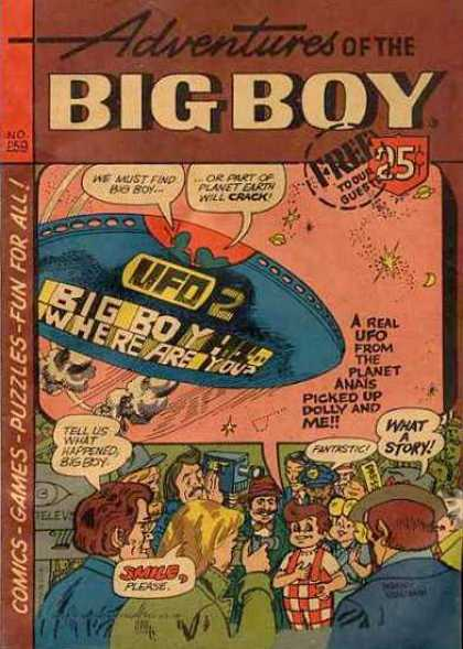 Adventures of the Big Boy 259 - Puzzles - Comics - Retro - Vintage - Cartoon
