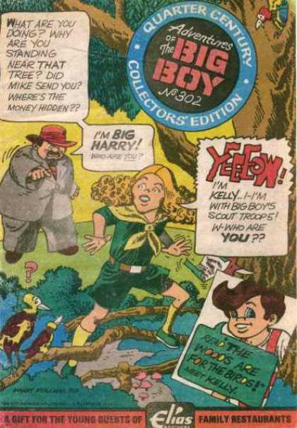 Adventures of the Big Boy 302 - Cap - Tree - Im Big Harry - Quarter Century - Elias