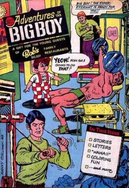 Adventures of the Big Boy 317 - Muscle - Man - Boy - Strong - Weak